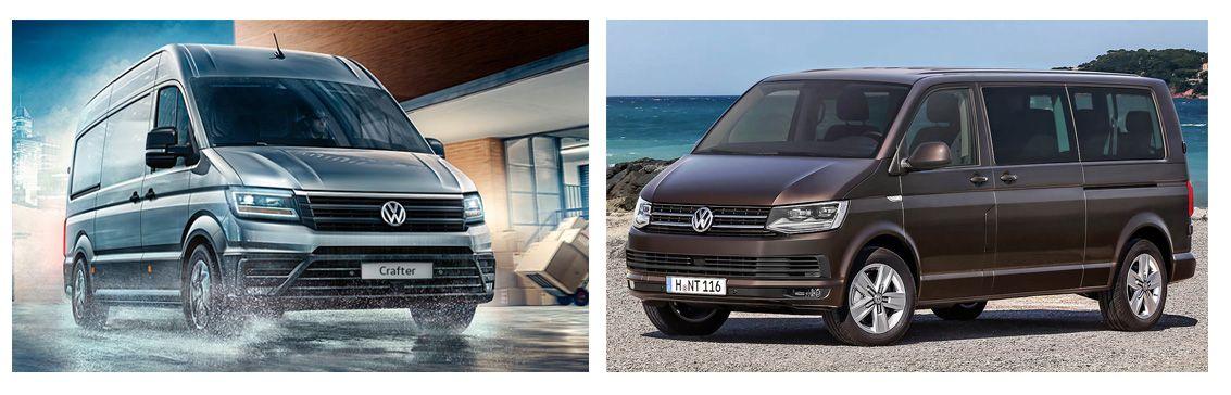 Oferta Julio: Volkswagen CARAVELLE y Volkswagen CRAFTER