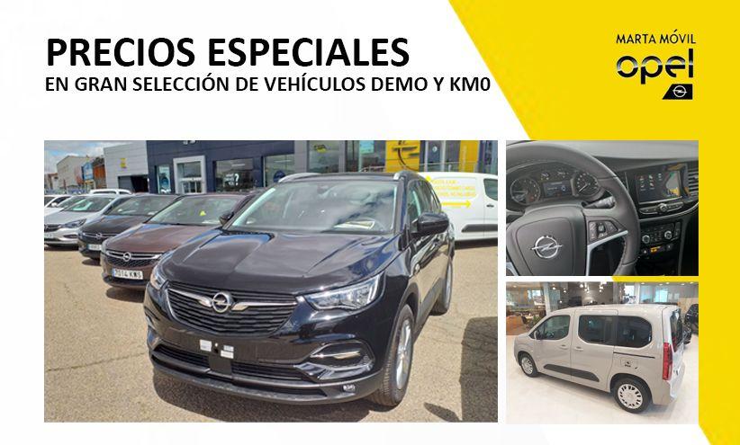 Precios especiales en vehículos de km0 y demo