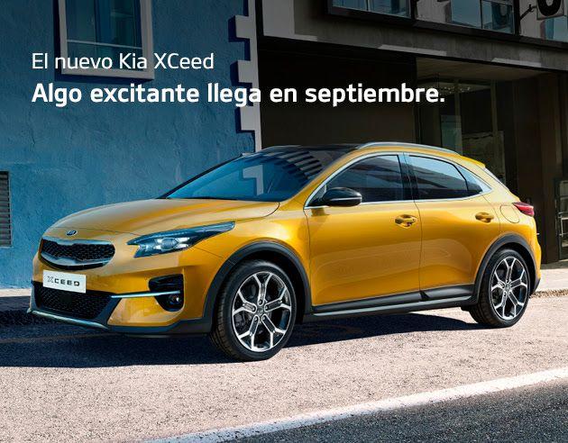 El nuevo Kia XCeed. Algo excitante llega en septiembre.