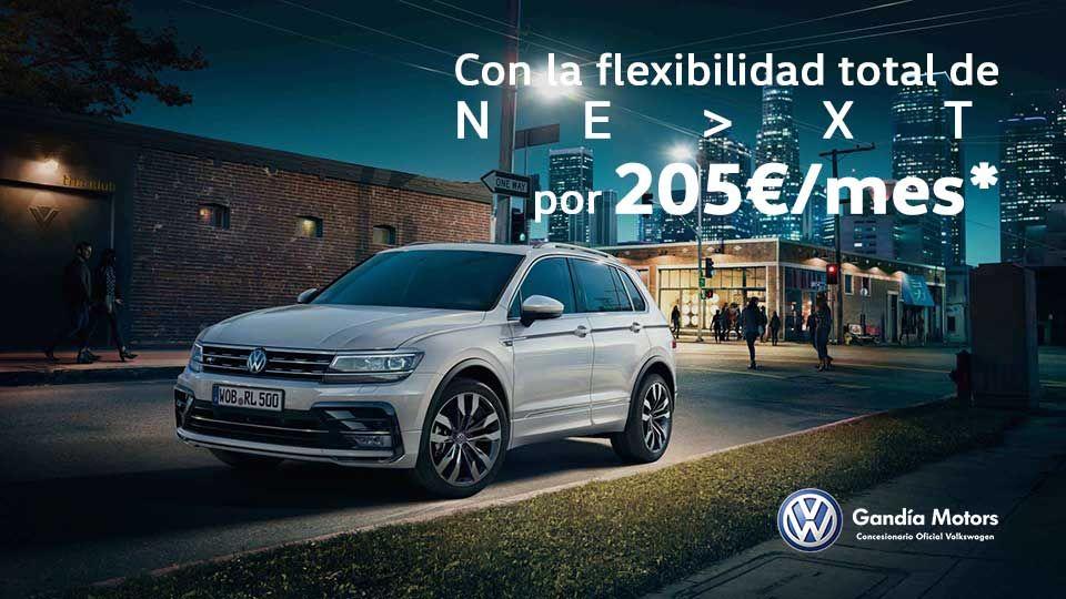 Volkswagen Tiguan, un palacio sobre la carretera por solo 205€ al mes