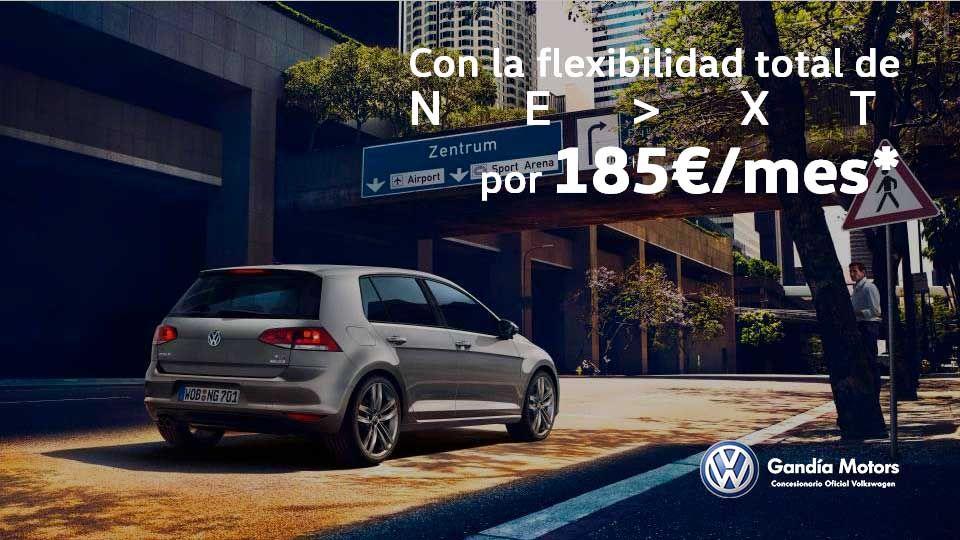 Volkswagen Golf por solo 185€ al mes