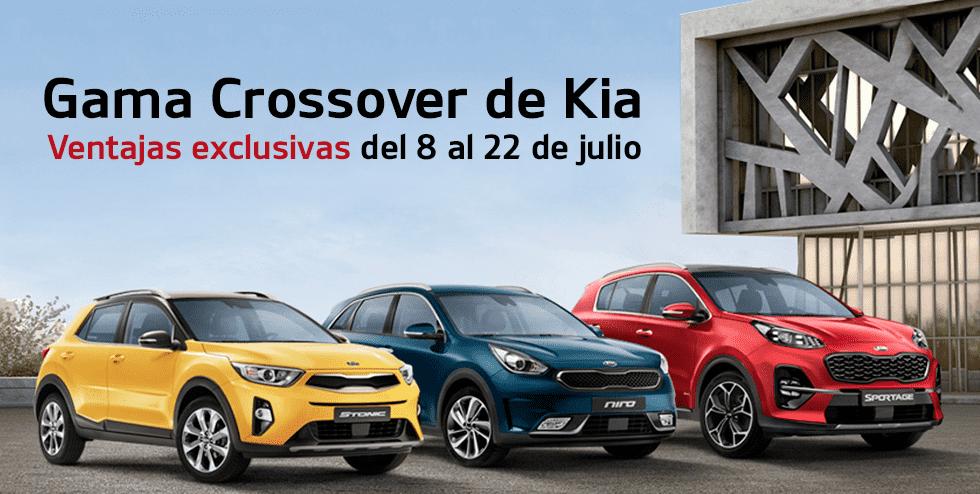 GAMA CROSSOVER DESDE 12.600€ DEL 8 AL 22 DE JULIO