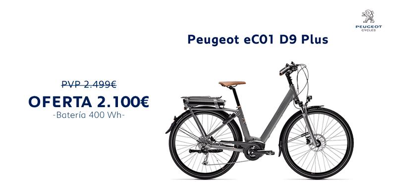 Oferta Peugeot eC01 D9 Plus