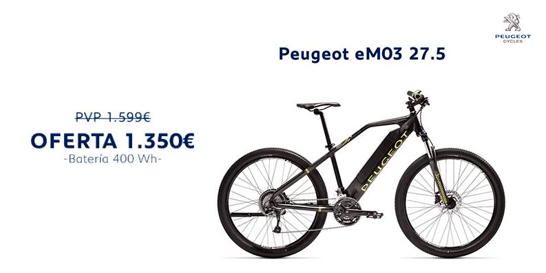 Oferta Peugeot eM03 27.5