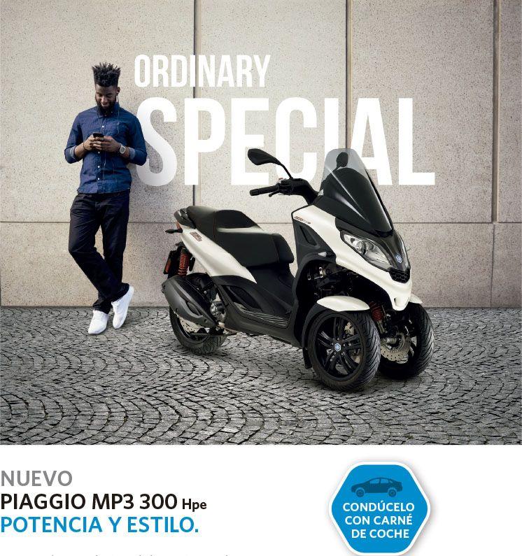 Promoción Financiación Piaggio MP3 300 HPE