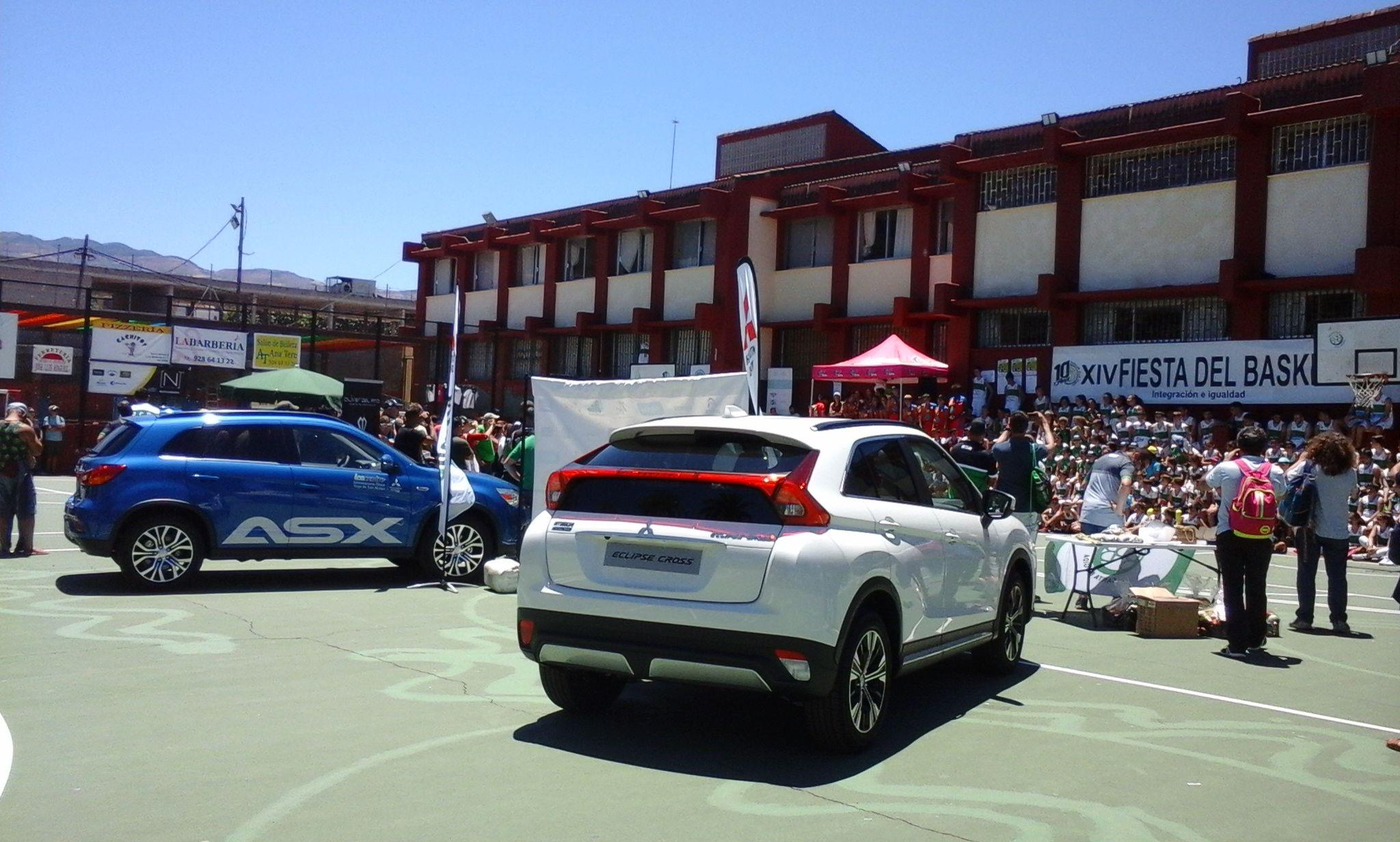 """Mitsubishi ASX y Eclipse Cross en la XIV FIESTA DEL BASKET """"INTEGRACIÓN E IGUALDAD'."""
