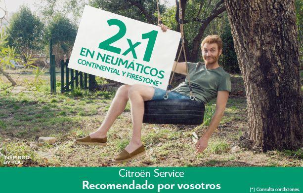 2X1 EN NEUMÁTICOS CONTINENTAL Y FIRESTONE
