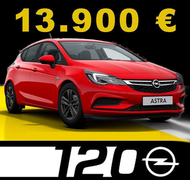 Ofertón Opel Extredauto - Astra 120 Aniversario.