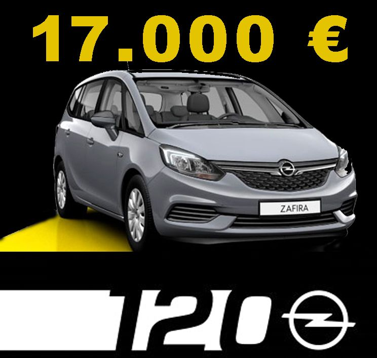 Ofertón Opel Extredauto - Zafira 120 Aniversario