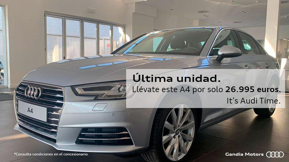 Audi A4 por 26.995 euros. Última unidad.