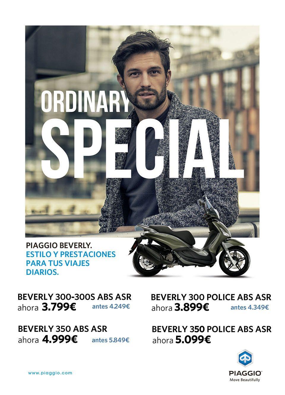 Descubre las promociones para la gama Piaggio Beverly