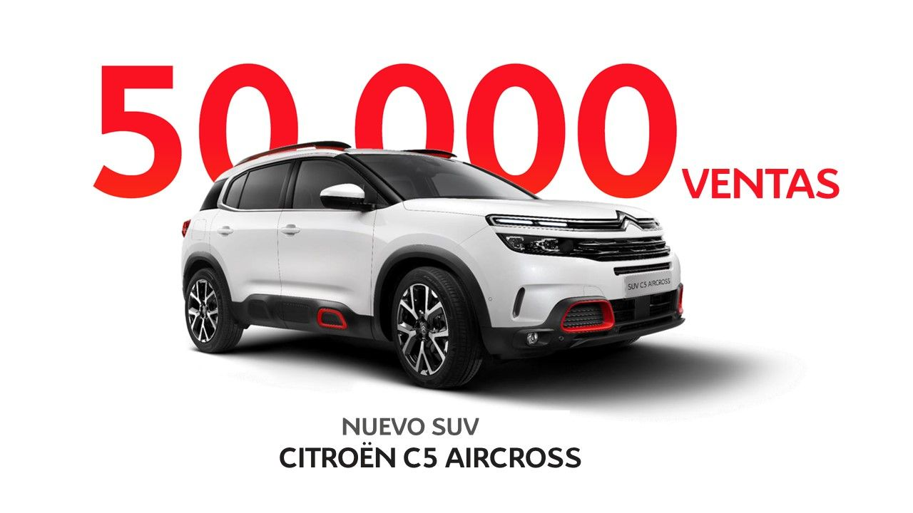 NUEVO SUV CITROËN C5 AIRCROSS: 50.000 VENTAS