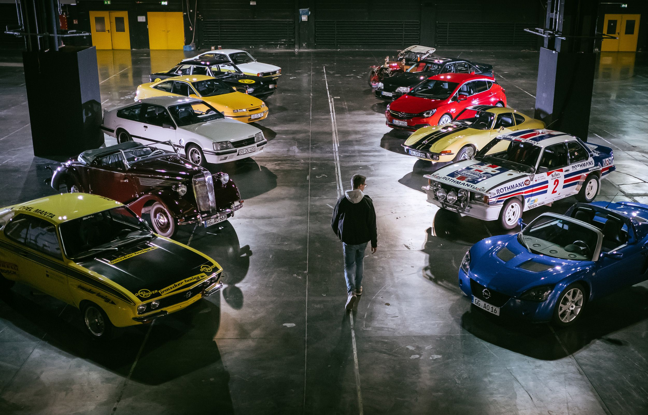 Alemán, emocionante y accesible: serie de vídeos sobre el 120 aniversario de los iconos Opel