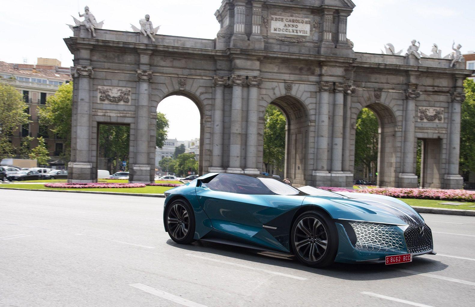 DS X E-TENSE: EL DREAM CAR DE 2035 LLEGA A LAS CALLES DE MADRID