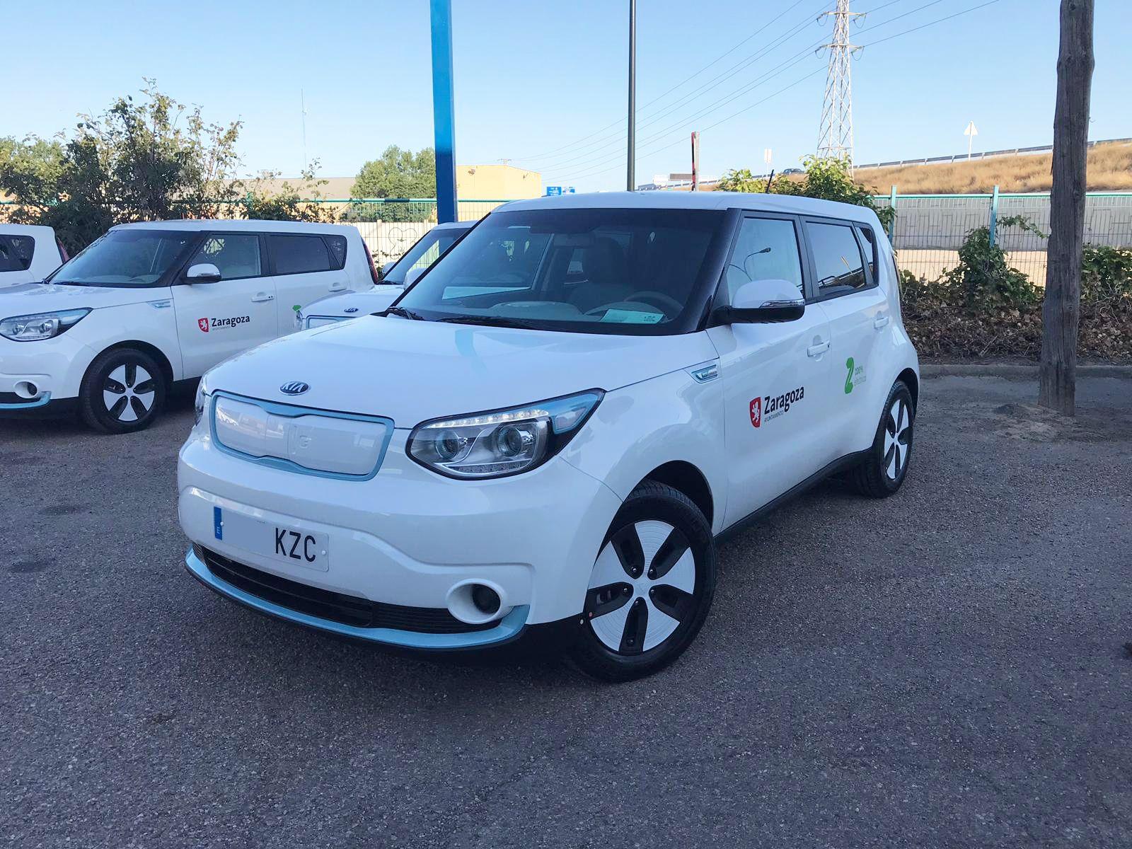 Kia Autosalduba entrega al Ayuntamiento de Zaragoza 11 vehículos eléctricos