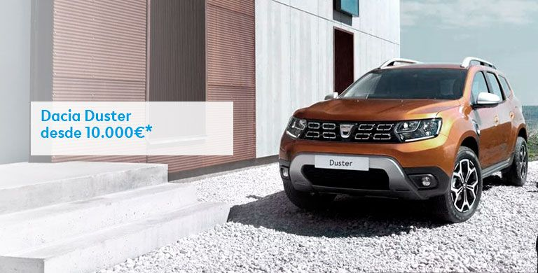 DACIA DUSTER  10.000€ hasta 31/08/2019