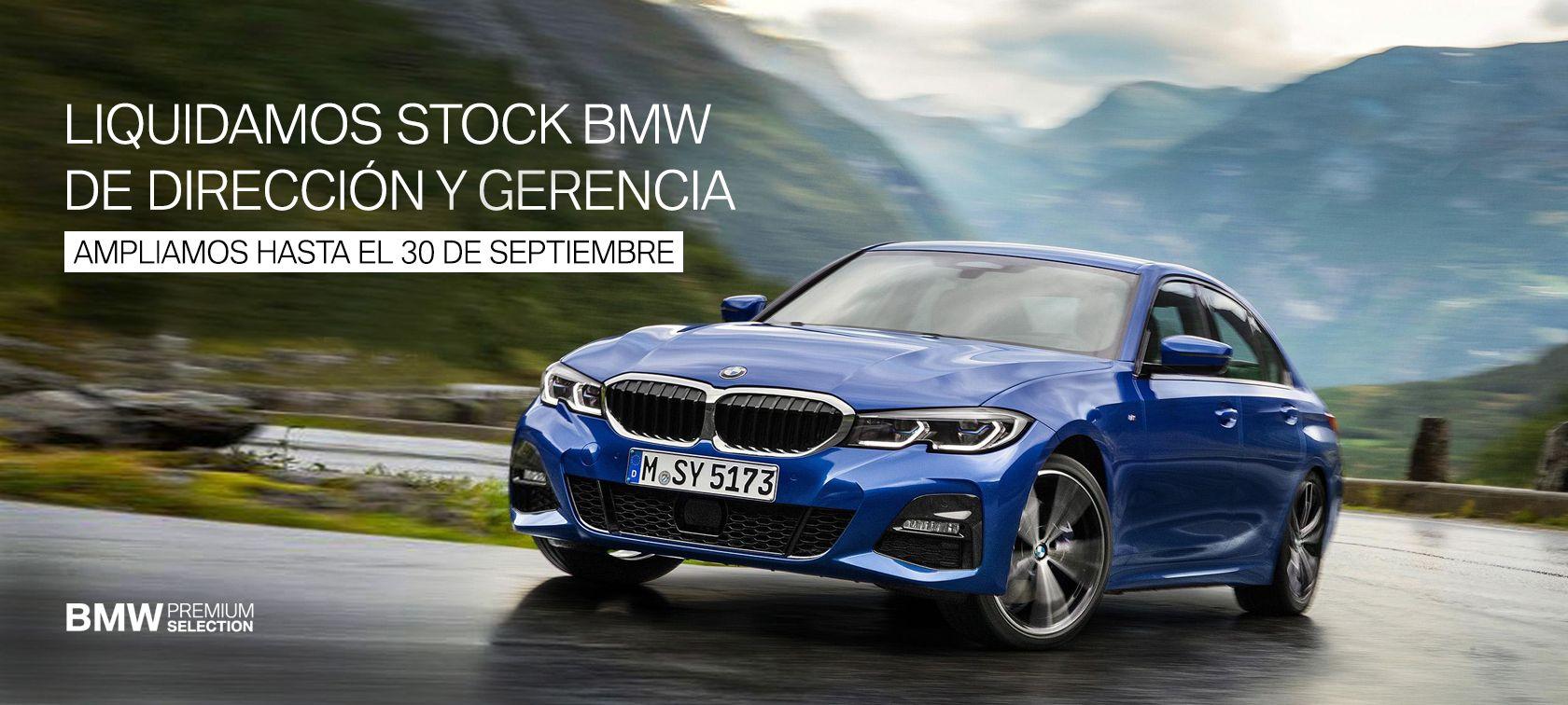 LIQUIDACIÓN DE STOCK BMW SEMINUEVOS
