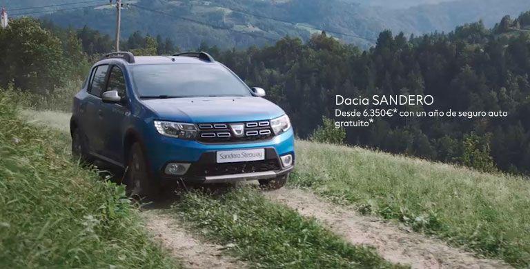 Dacia Sandero desde 6.350€*