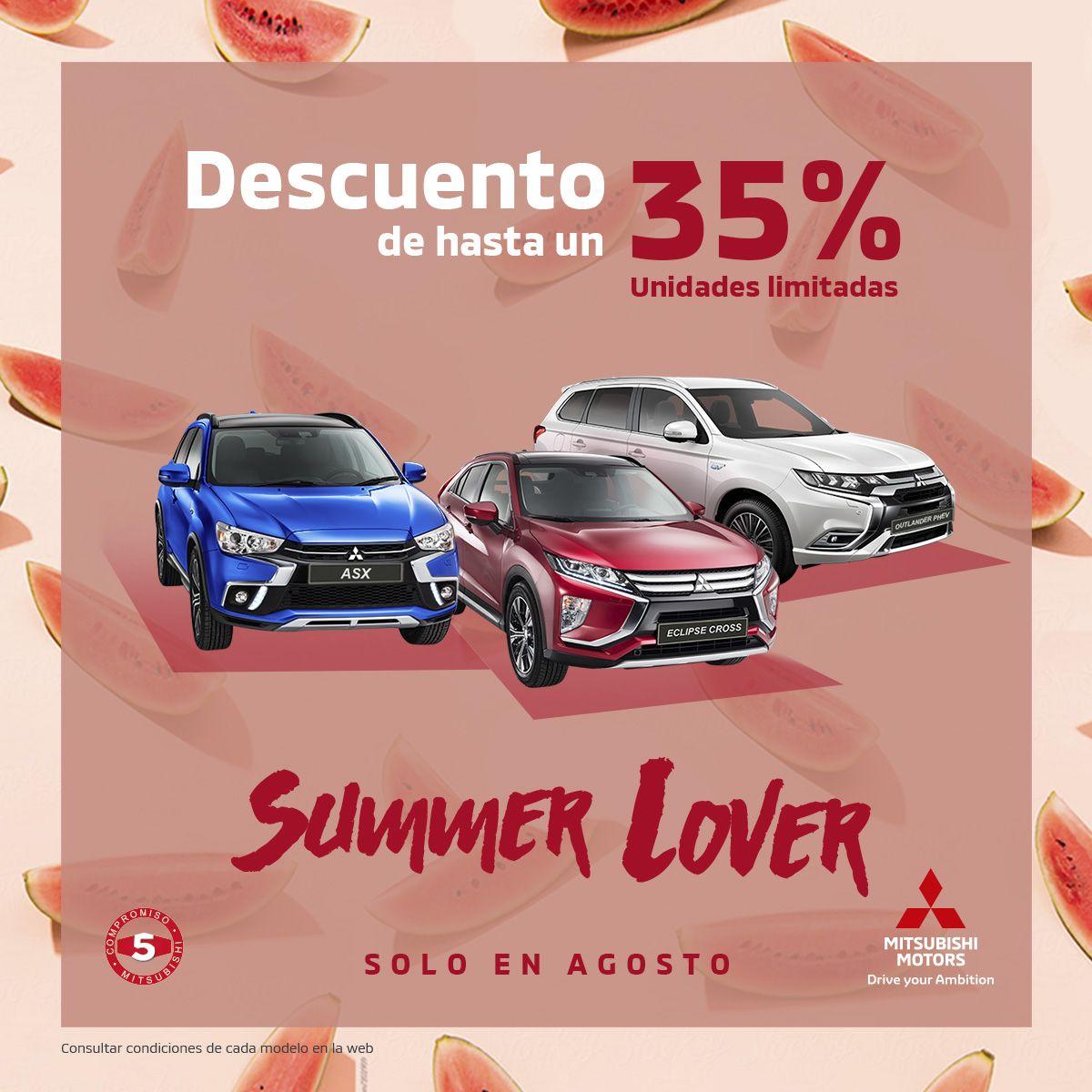 Promoción Summer Lover. Descuentos de verano.