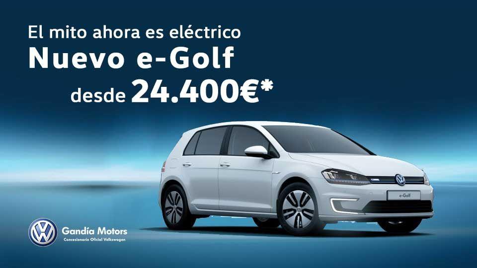 e-Golf. El mito ahora es eléctrico desde 24.400€ *