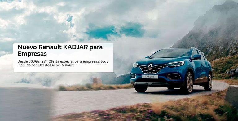 Nuevo Renault Kadjar: Para Empresas