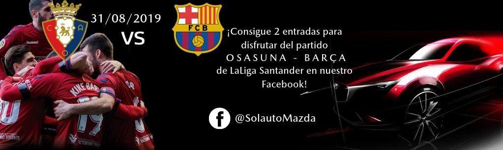 Sorteo entradas Osasuna - Barça