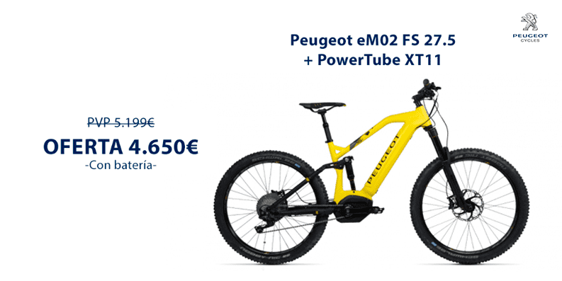 Oferta Peugeot eM02 FS 27.5+ PowerTube XT11