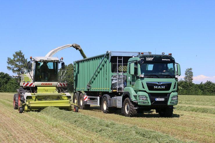El camión agrícola MAN en la Agritechnica 2019