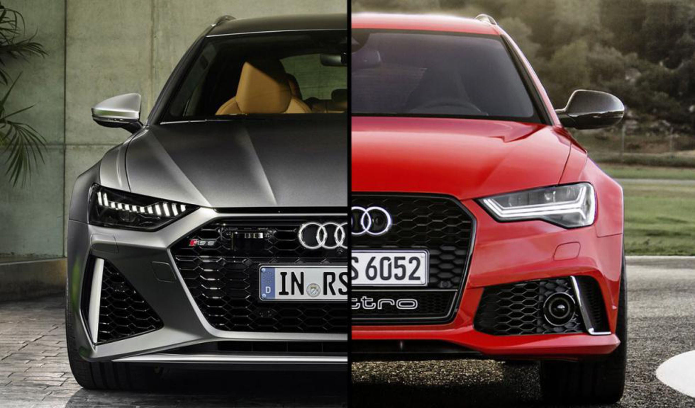 Comparativa Audi RS6 Avant 2013 y 2020