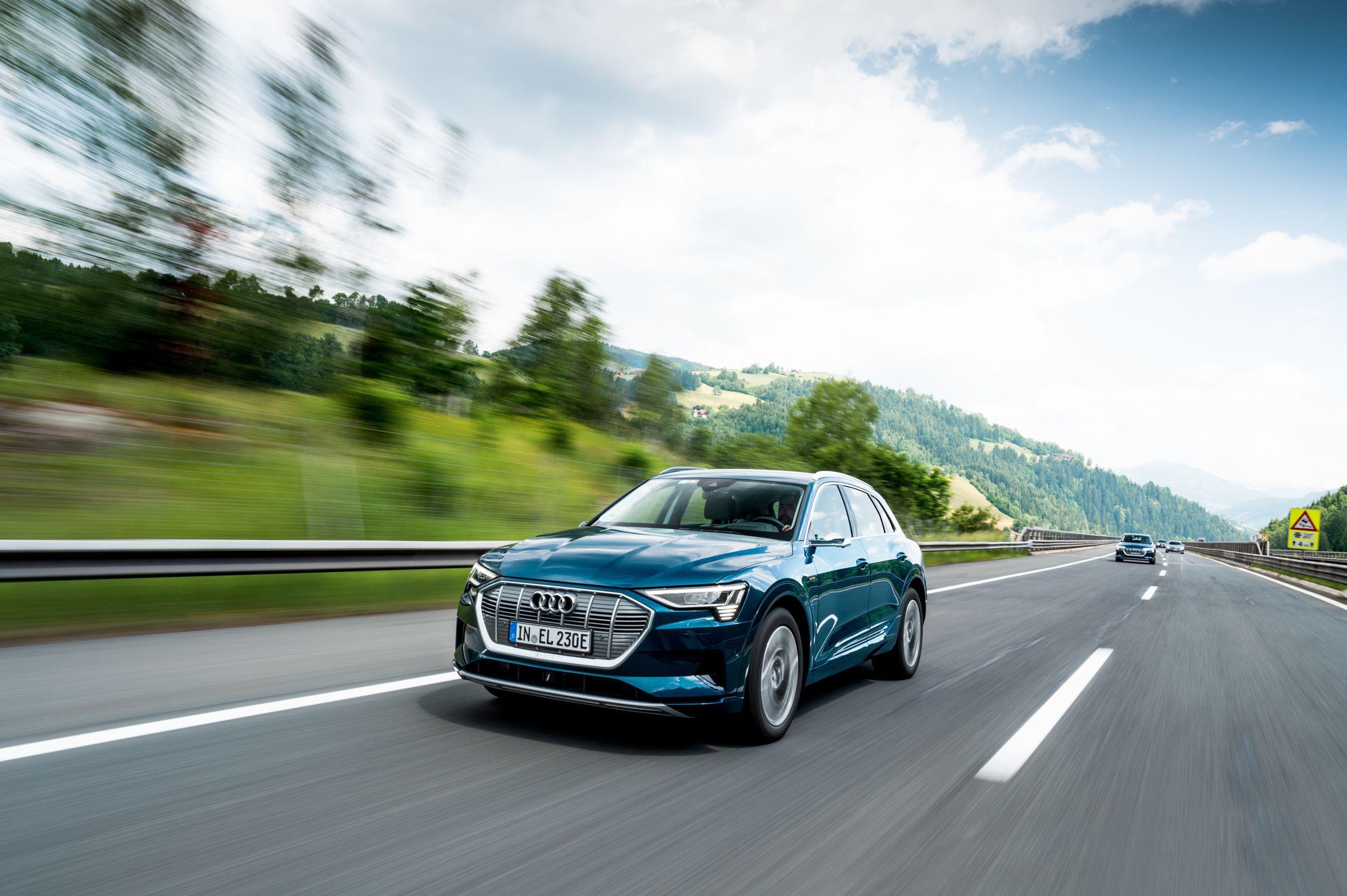 Audi e-tron, el eléctrico más seguro del mundo