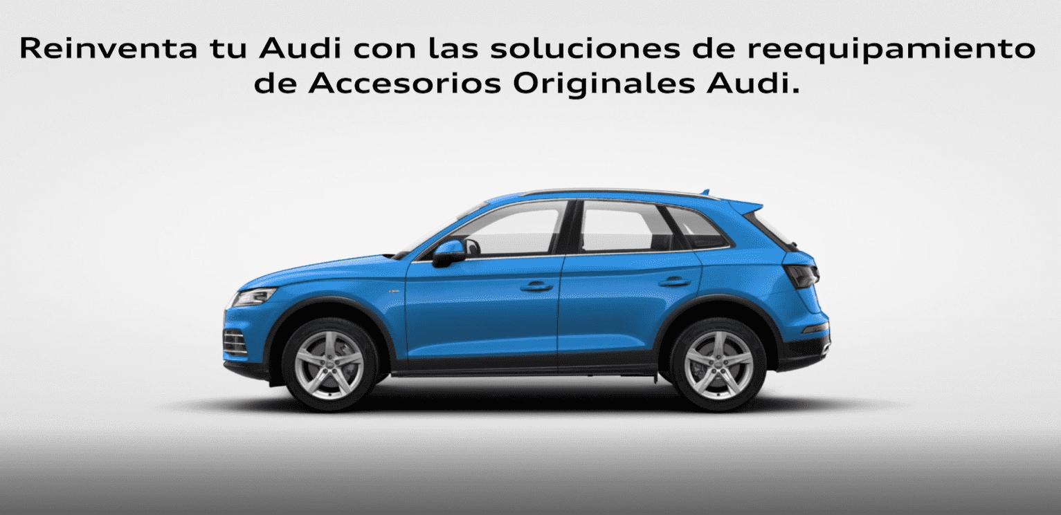 Soluciones de reequipamiento para tu Audi