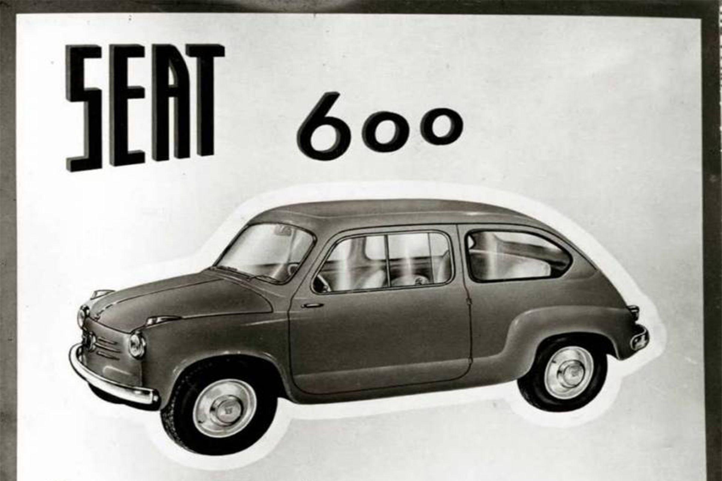 La primera publicidad de SEAT