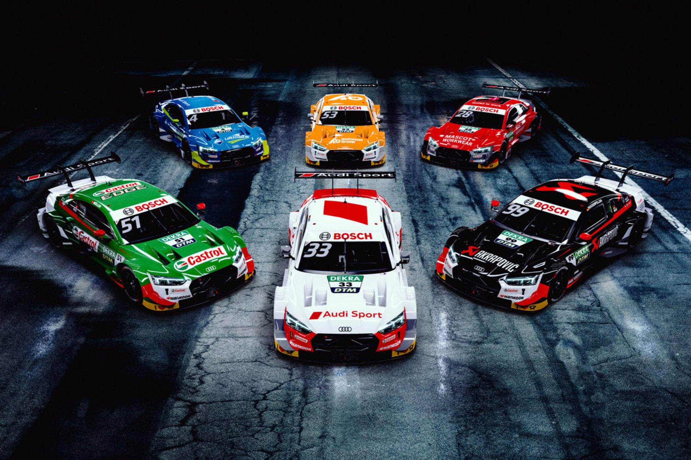 Audi, campeón del DTM 2019