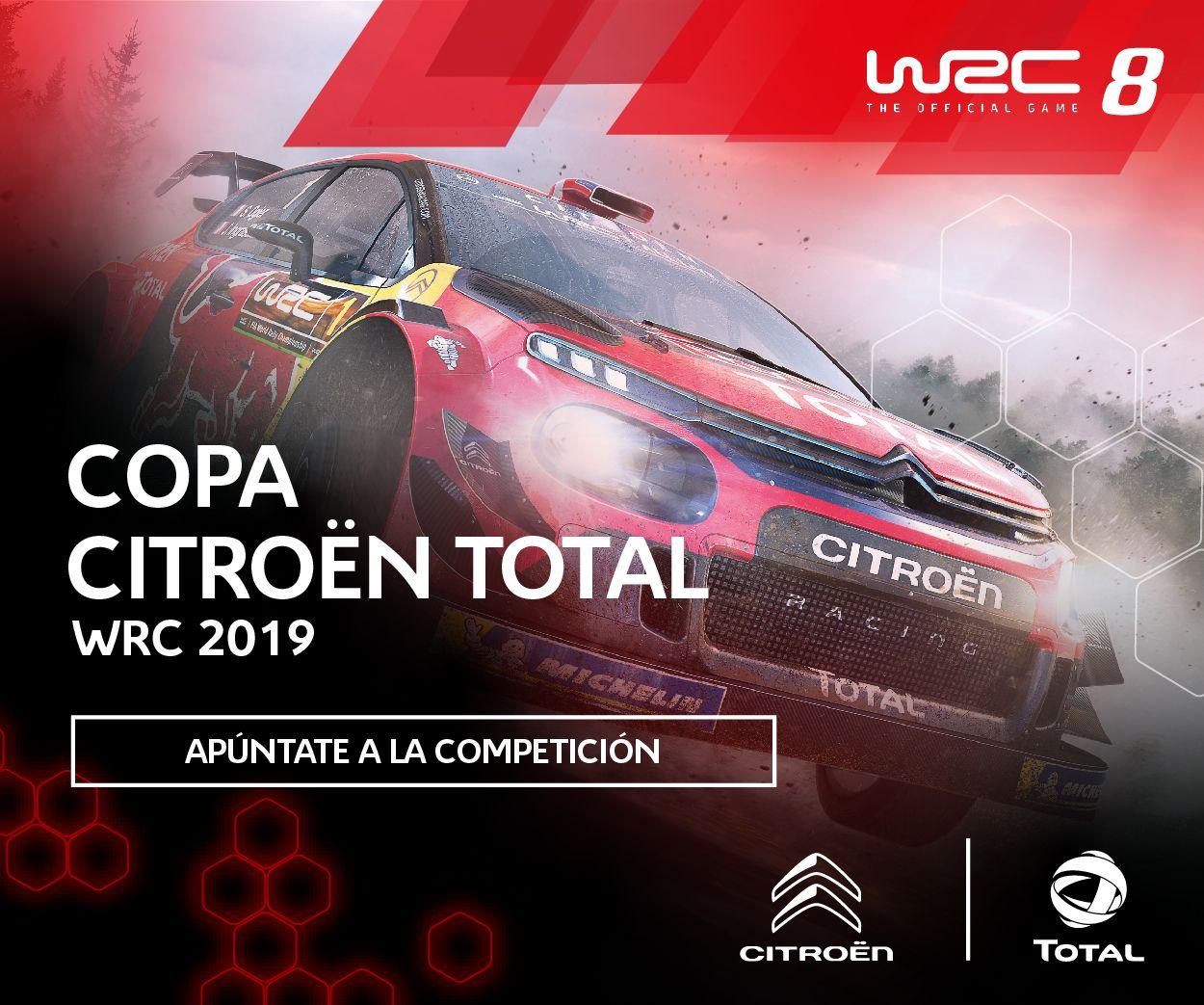 ARRANCA LA COPA CITROËN TOTAL WRC 2019 DE SIM RACING