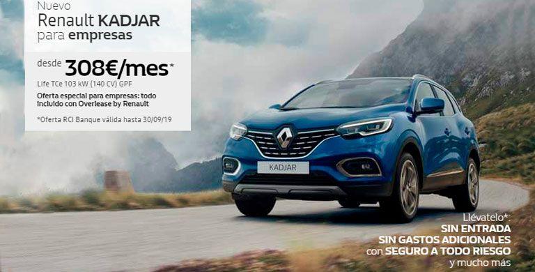 Nuevo Renault Kadjar para Empresas