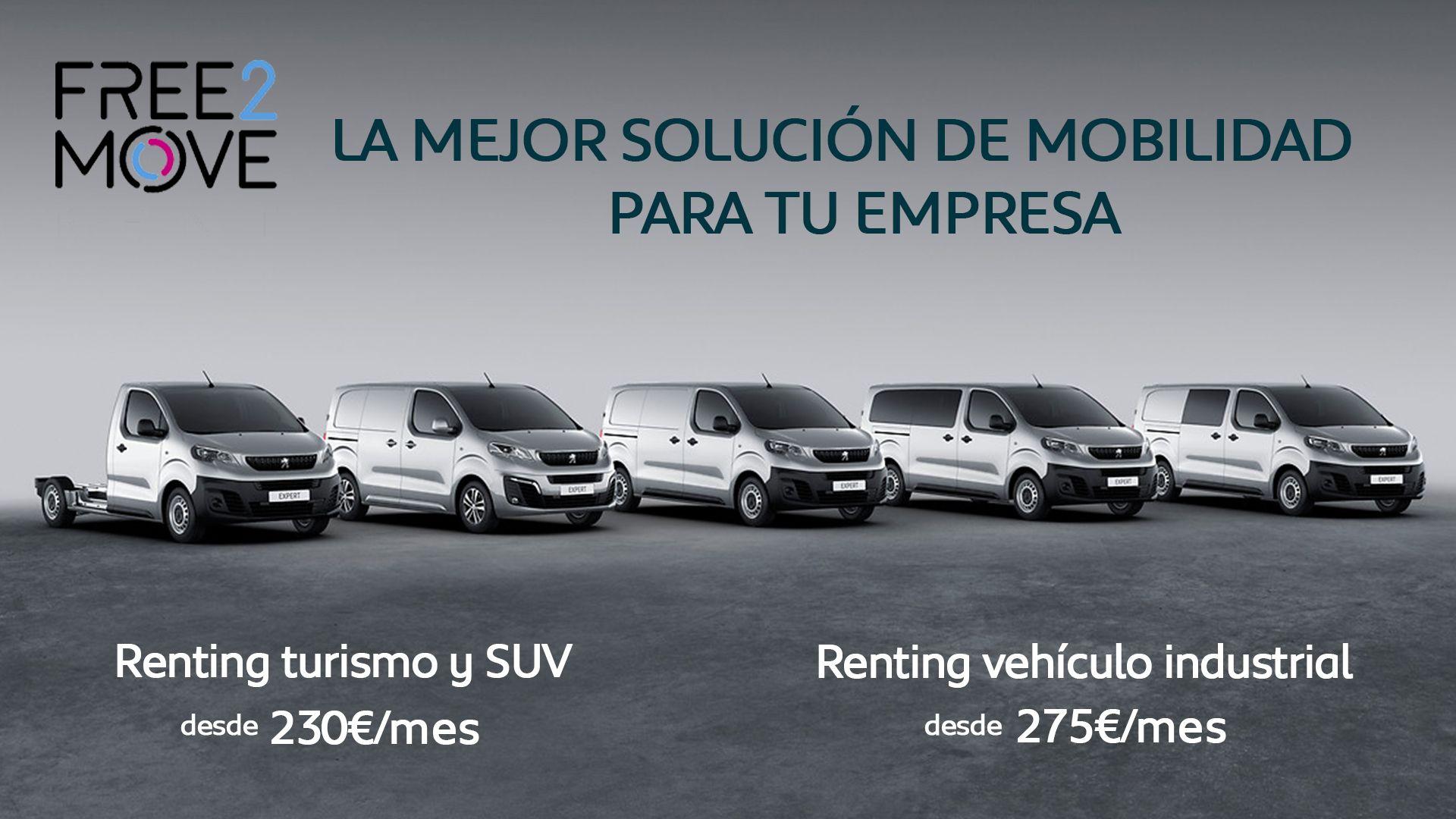 Renueva tu vehículo de empresa al mejor precio