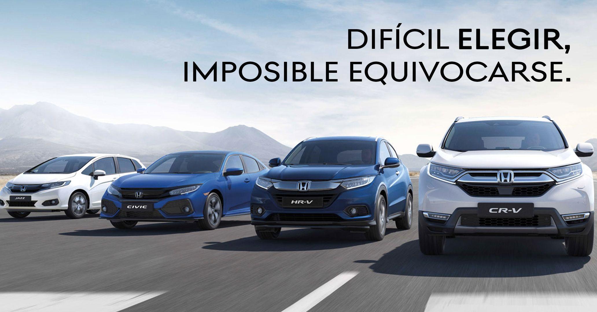 Ahora tienes una gran selección de vehículos Honda de Gerencia y km. 0.