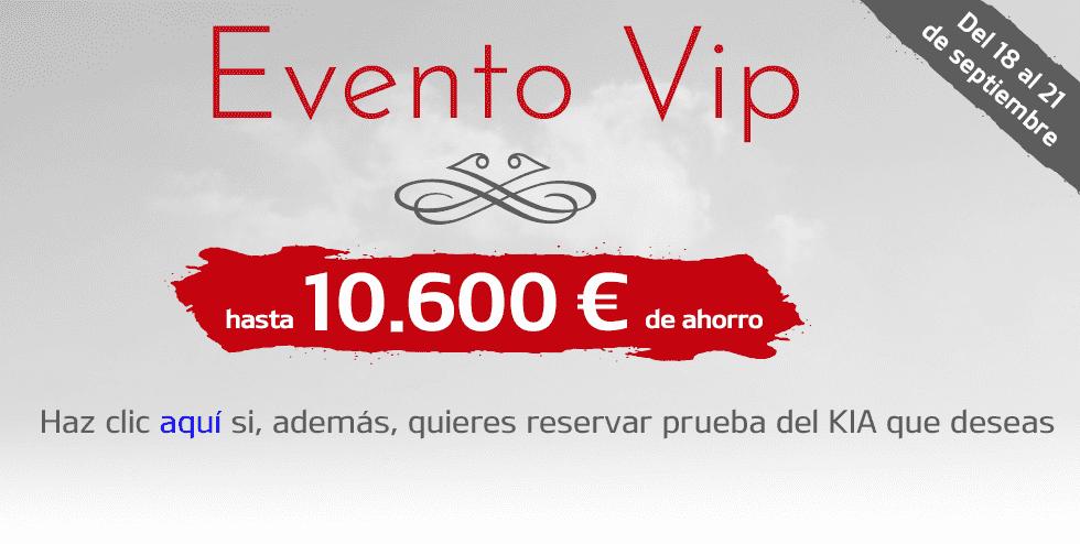 EVENTO VIP DE 18 A 21 SEPTIEMBRE