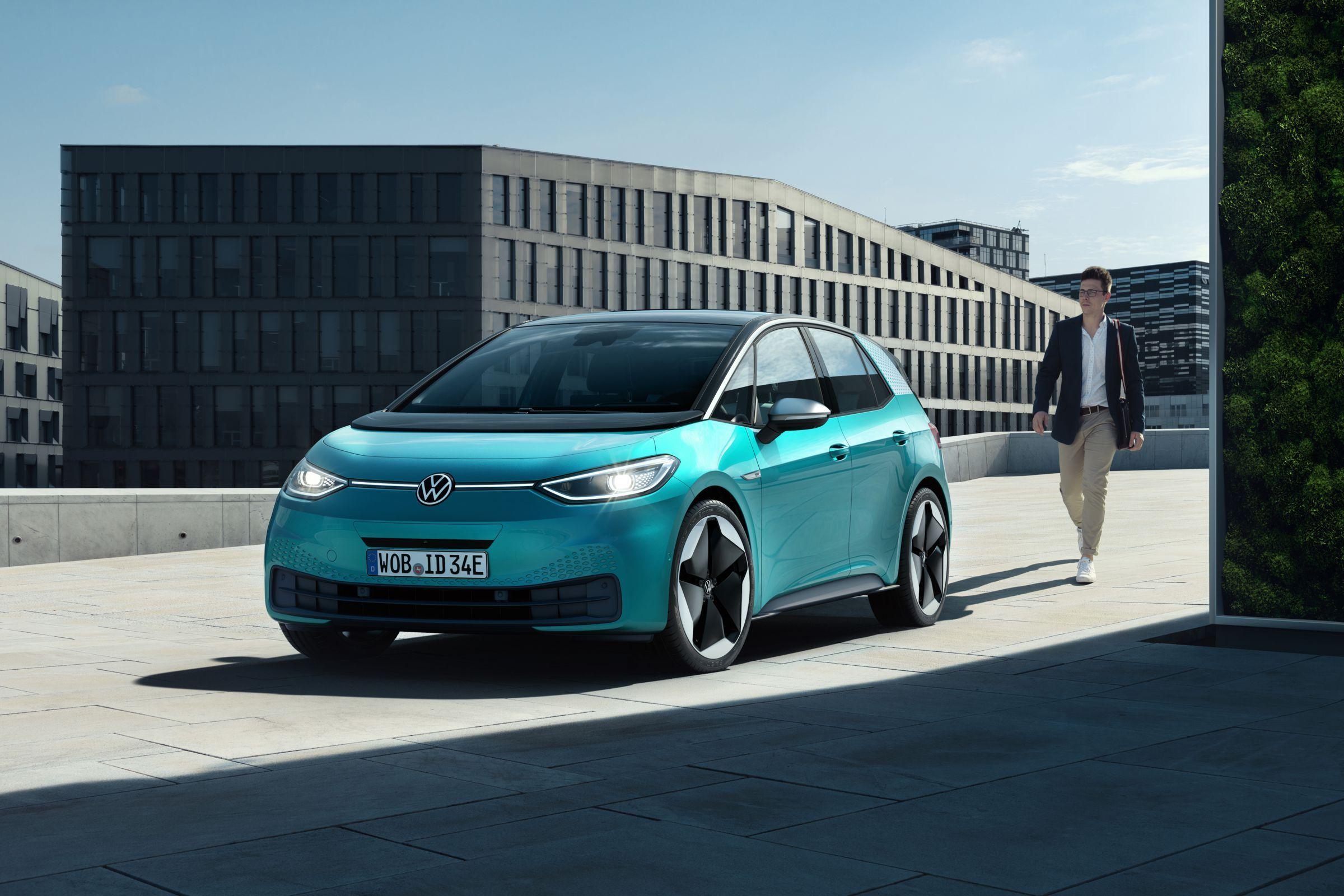 Volkswagen presenta I.D.3, su primer vehículo 100% eléctrico