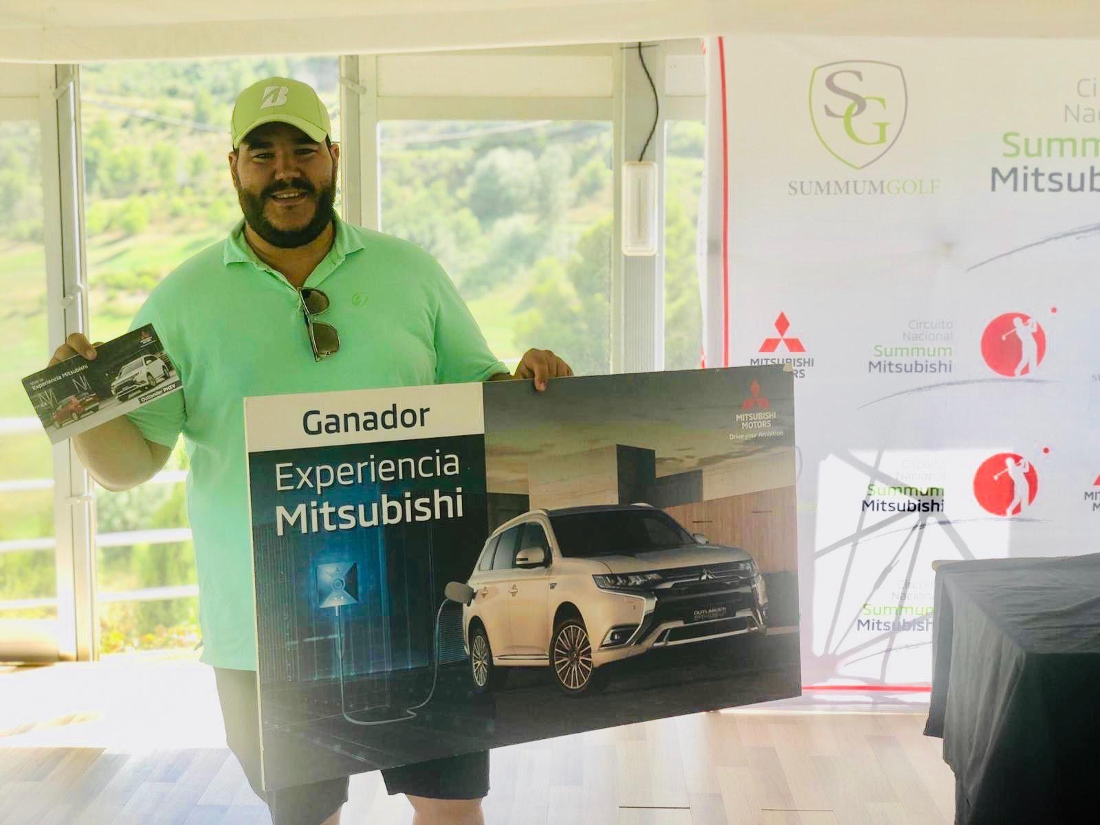Guillermo Martín ganador de la Experiencia  Mitsubishi del torneo La Galiana