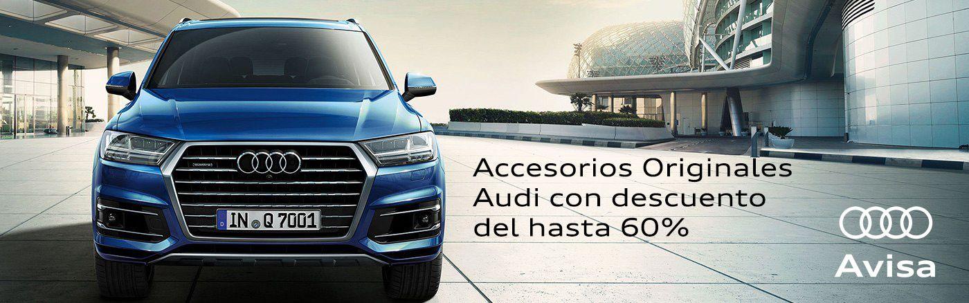 Hasta el 60% descuento en Accesorios Originales Audi