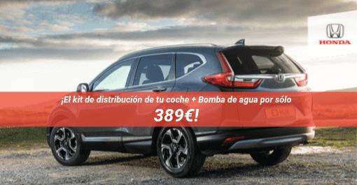 Kit de distribución de tu coche + Bomba de agua por sólo 389€