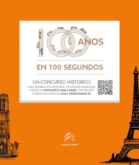 100 años en 100 segundos Viaje a Paris
