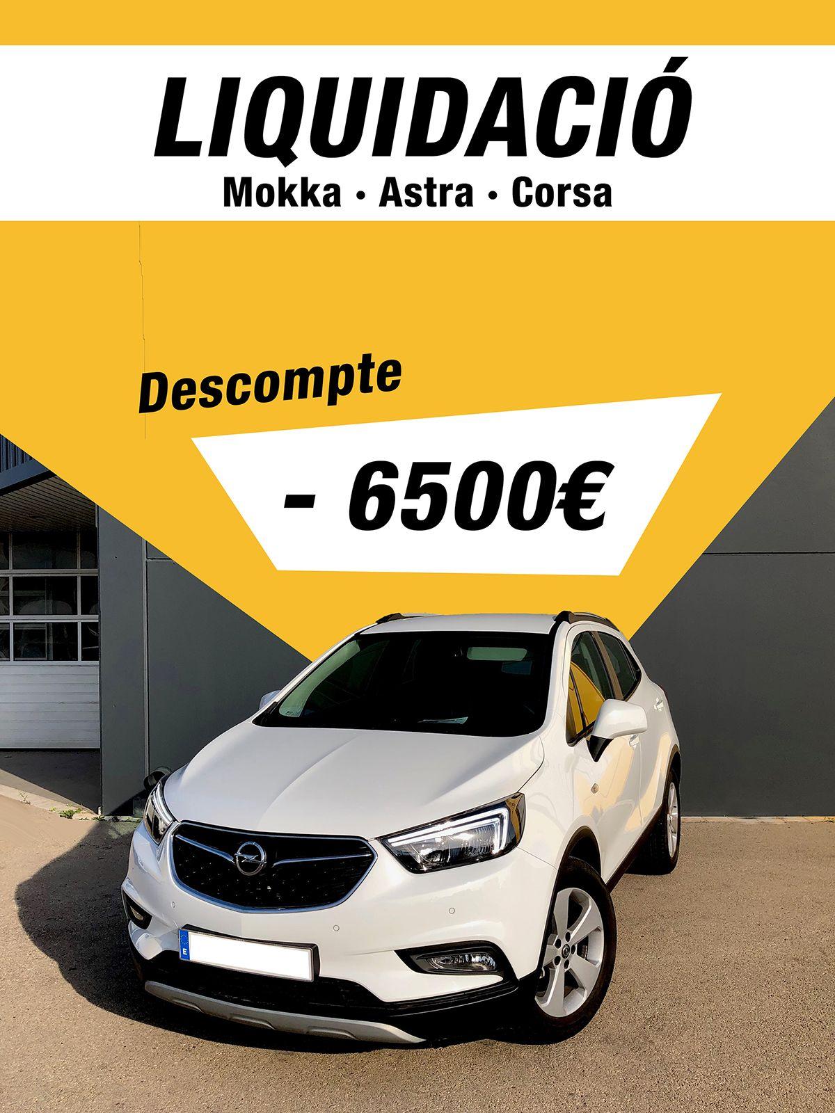 Liquidació Mokka Astra Corsa