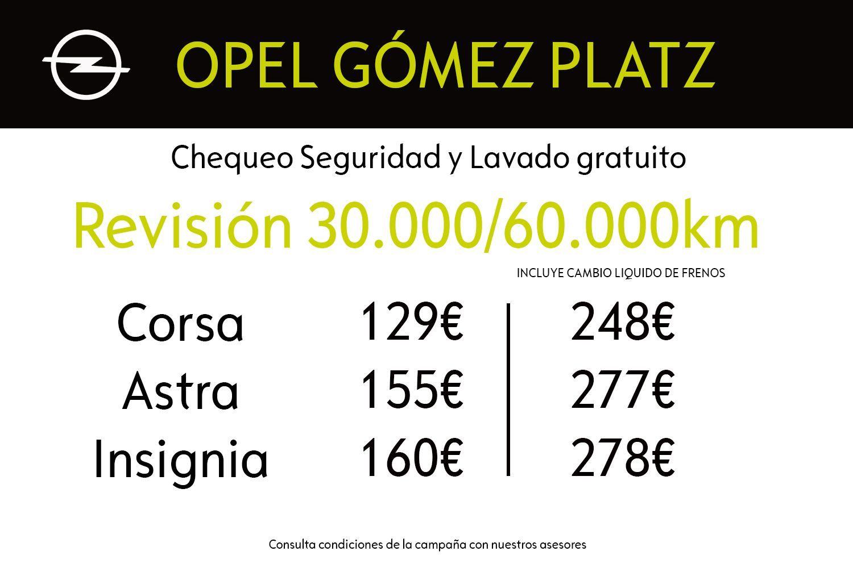 Tu Opel a punto con precios cerrados