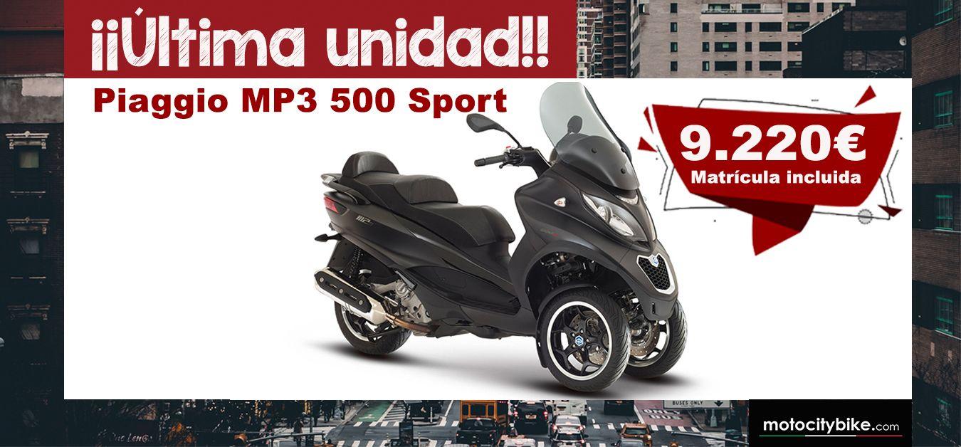 OFERTA ESPECIAL PIAGGIO MP3 500 Sport