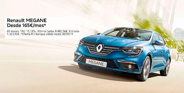 Renault Megane 165€/mes