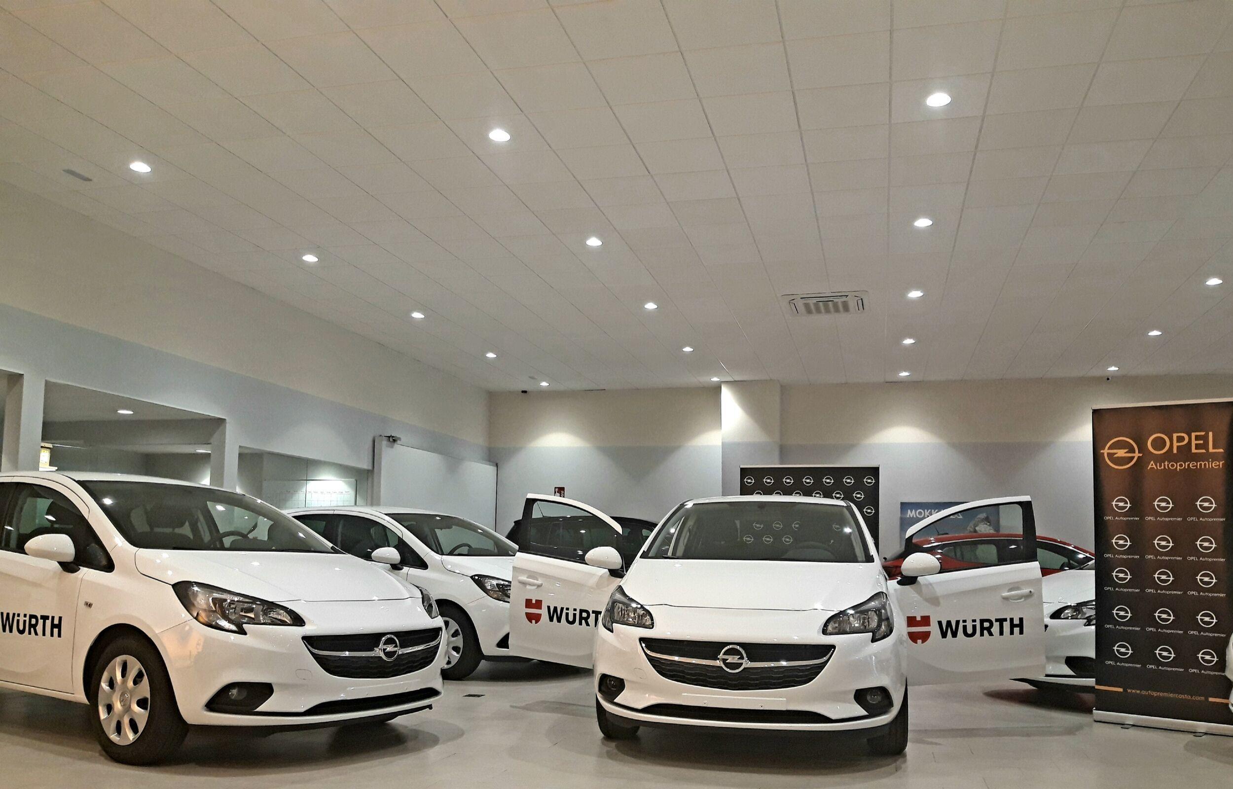 La Delegación de Wurth en Málaga adquiere nuevos vehículos de la marca Opel