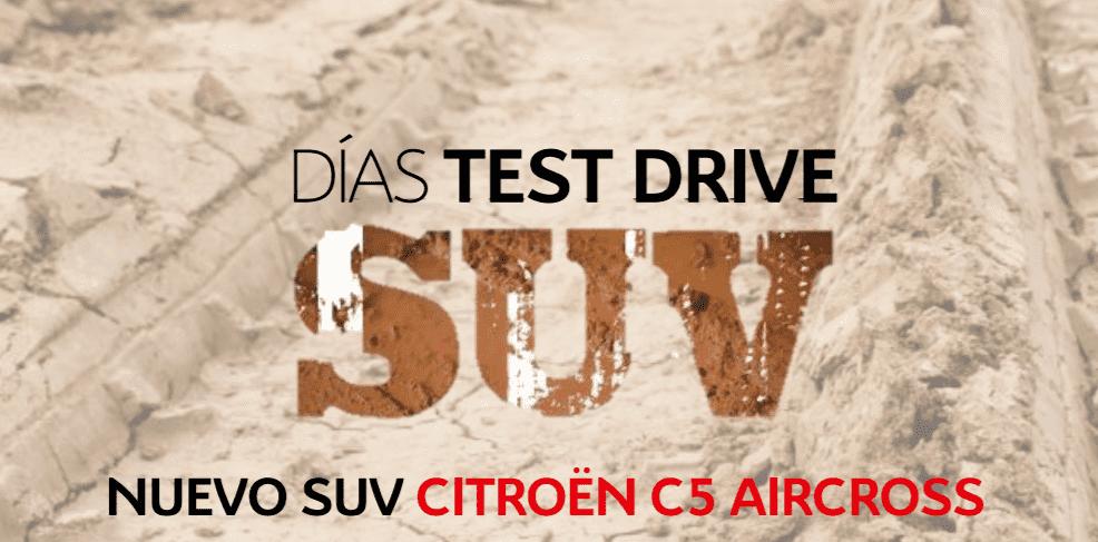 DESCUBRE LOS DÍAS TEST DRIVE SUV C5 AICROSS