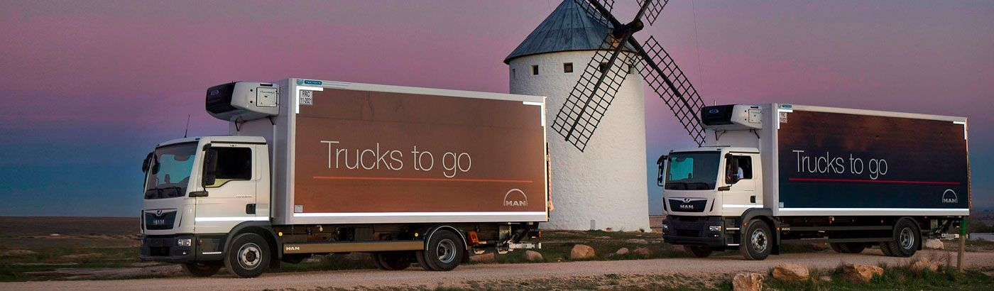 Trucks to go: MAN listos para llevar